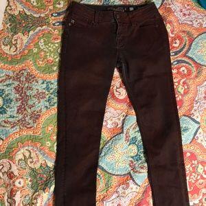 Maroon Skinny Miss Me Jeans